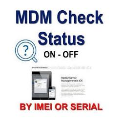Check Statut MDM pour...