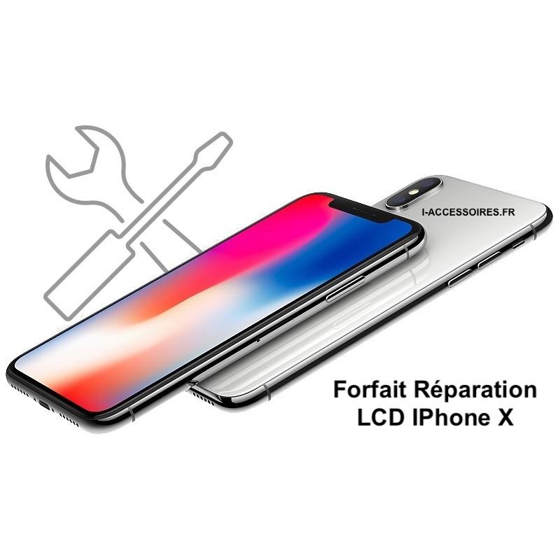 Forfait remplacement écran iPhone X