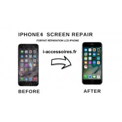Forafait remplacement écran lcd  iPhone 6