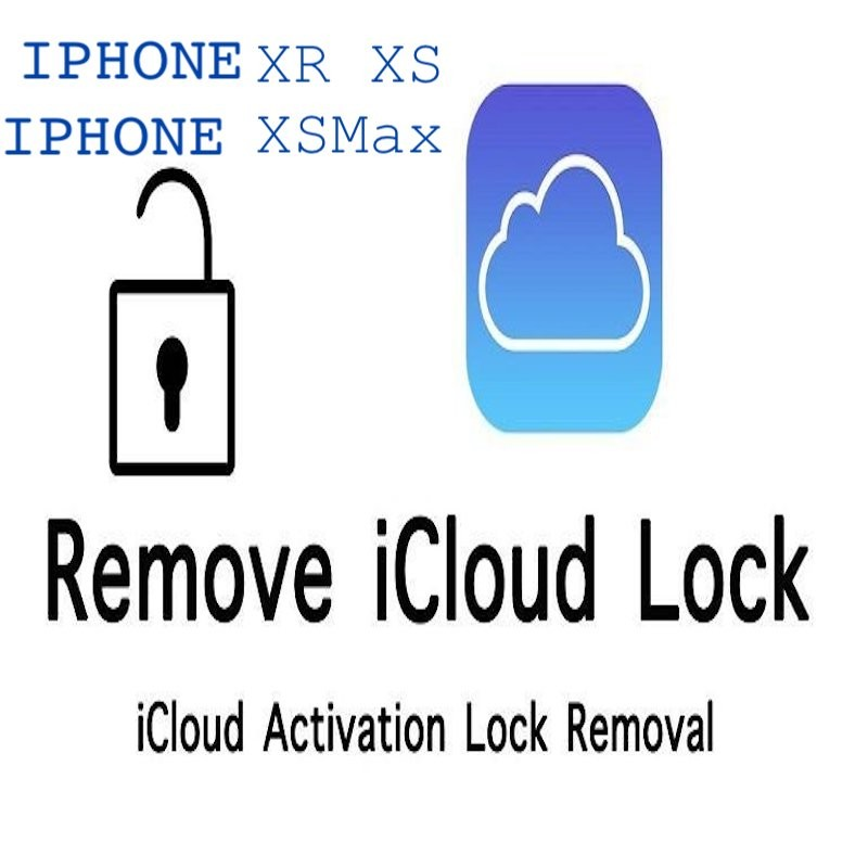 Supprimer compte clean iCloud iPhone XS , XR , XS max , iPhone X