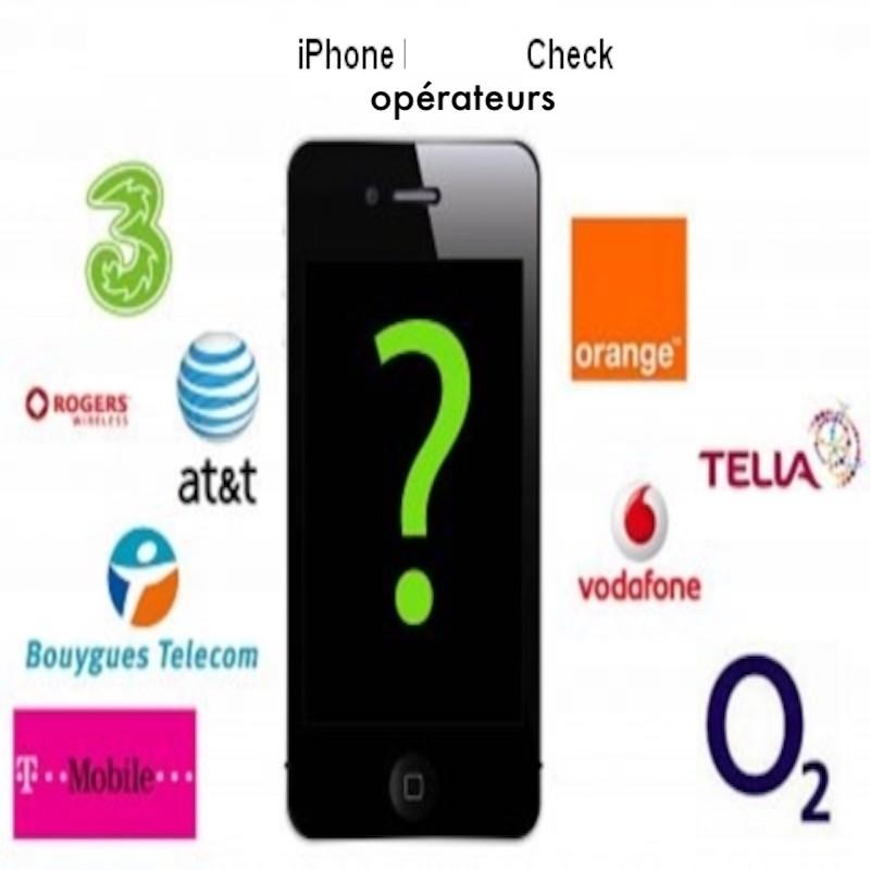 Simlock check statu For iPhone