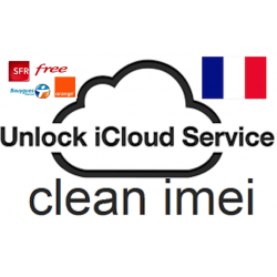 unlock icloud iPhone from france