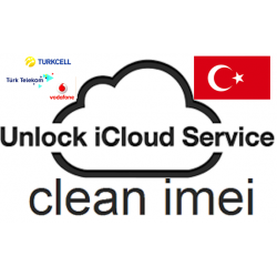 Delete iCloud account on iPhone Turkey