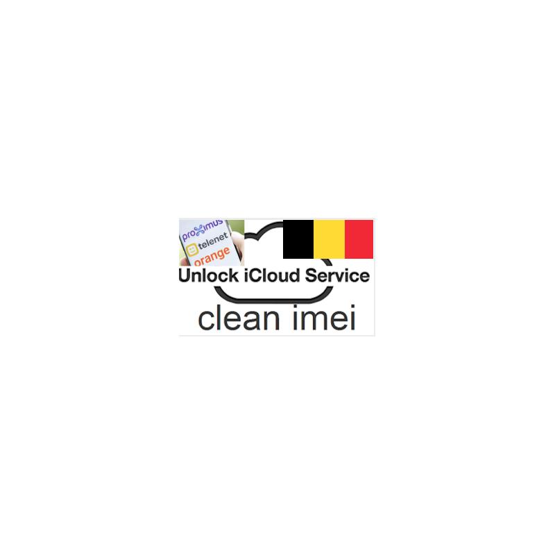 Unlock iCloud service for Belgique Iphone